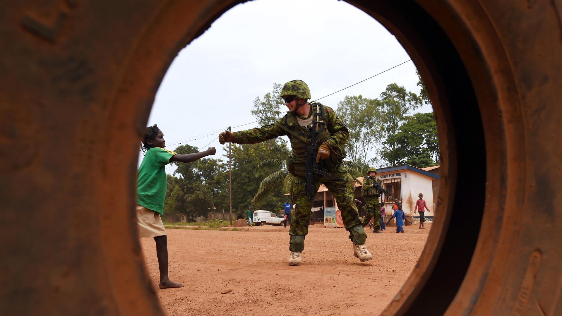 Central African Republic EU Issouf Sanogo Getty