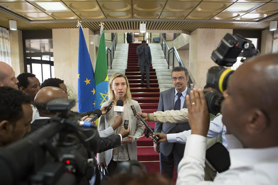 Federica Mogherini Addis Abeba (Credit European Commission)