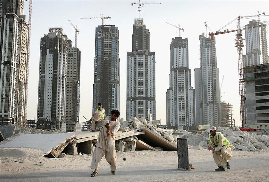 construction labourers exploitation in the uae Abu dhabi, united arab emirates — the strike had entered its second day when construction workers at labor camp 42 got word that their bosses from the bk gulf corporation had come to negotiate.