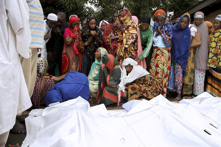 EDOUARD Central African Republic DROPSY:AFP:Getty Images