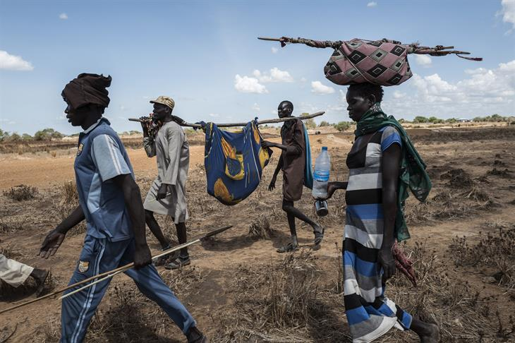 Sudan Displaced People STRINGER:AFP:Getty Images