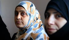 Women Refugees From Syria At A Clinic In Jordan By Russel Watkins:Department For International Development